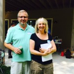 Hosts of the 2014 Big Sand Lake Picnic Neil and Susan Raisanen